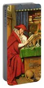 St. Jerome In His Study  Portable Battery Charger