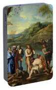St John Baptising The People Portable Battery Charger
