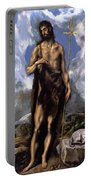 St John The Baptist Portable Battery Charger