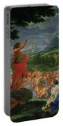 St John The Baptist Preaching Portable Battery Charger