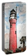 St Johns River Lighthouse Florida Portable Battery Charger