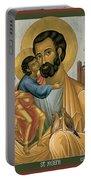 St. Joseph Of Nazareth - Rljnz Portable Battery Charger