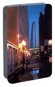 St. Louis Arch Portable Battery Charger by Steve Karol