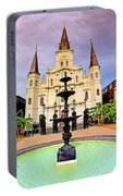 St. Louis Cathedral - New Orleans - Louisiana Portable Battery Charger