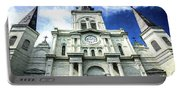 St. Louis Cathedral - Nola- Art Portable Battery Charger