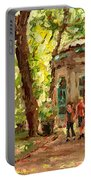 St Louis Square St Denis Street Portable Battery Charger
