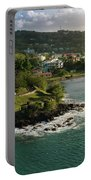 St. Lucia Coastline Portable Battery Charger