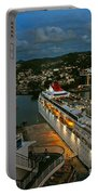 St. Lucia In The Evening Portable Battery Charger