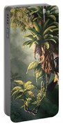St. Lucia Oriole In Bromeliads Portable Battery Charger