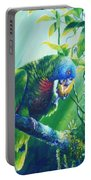 St. Lucia Parrot And Wild Passionfruit Portable Battery Charger