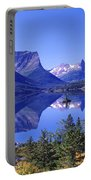 St Mary Lake Glacier National Park Mt Portable Battery Charger