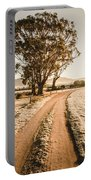 St Marys Winter Country Road Portable Battery Charger