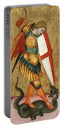 St Michael And The Dragon Portable Battery Charger