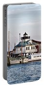 St Michael's Maryland Lighthouse Portable Battery Charger