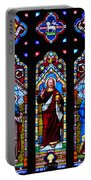 St. Michael's Parish Stained Glass Portable Battery Charger