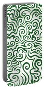 St Patrick's Day Abstract Portable Battery Charger