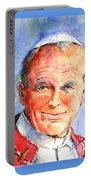 St. Pope Paul John II Portable Battery Charger