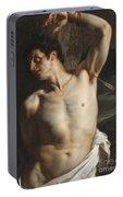 Custom Portrait of Saint Sebastian by Paul Delaroche