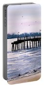 St. Simons Island Fishing Pier Portable Battery Charger