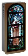 St. Theresa Stained Glass Window Portable Battery Charger