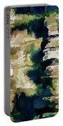 St Thomas - Brick Wall Shadow Portable Battery Charger