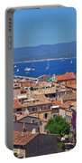 St-tropez Skyline Portable Battery Charger by Corinne Rhode