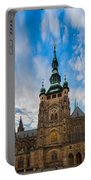St  Vitus Cathedral In Prague Portable Battery Charger