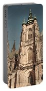St Vitus Cathedral Prague Portable Battery Charger
