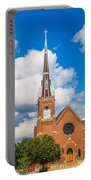 St Wenc On A Bright Summer Day Portable Battery Charger