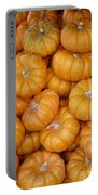 Stacked Mini Pumpkins Portable Battery Charger