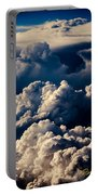 Stacks Of Thunderheads Portable Battery Charger