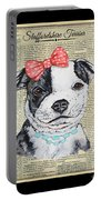 Staffordshire Terrier-jp3857 Portable Battery Charger