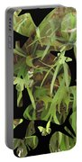 Staghorn Butterfly Fractal Portable Battery Charger