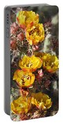 Staghorn Cholla Blossoms Portable Battery Charger