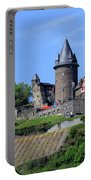 Stahleck Castle In The Rhine Gorge Germany Portable Battery Charger