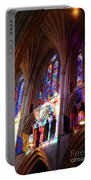 Stain Glass Cathedral Portable Battery Charger