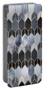 Stained Glass 4 Portable Battery Charger by Elisabeth Fredriksson