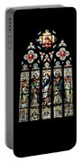 Stained Glass At St. John's Portable Battery Charger