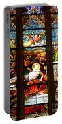 Stained Glass Beauty #38 Portable Battery Charger