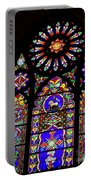 Stained Glass Beauty #46 Portable Battery Charger