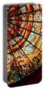 Stained Glass Ceiling Portable Battery Charger