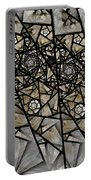 Stained Glass Floral IIi Portable Battery Charger