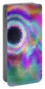 Stained Glass Morph #107 Portable Battery Charger