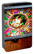 Stained Glass Table Portable Battery Charger