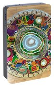 Stained Glass Table Top Portable Battery Charger