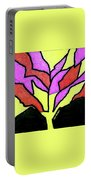 Tree - Stained Glass Watercolor Portable Battery Charger