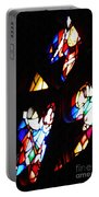 Stained Glass View Portable Battery Charger