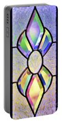 Stained Glass Watercolor Portable Battery Charger