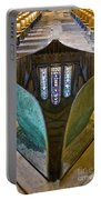 Stained Glass-window Reflection Portable Battery Charger