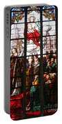 Stained Glass Window Vi Portable Battery Charger